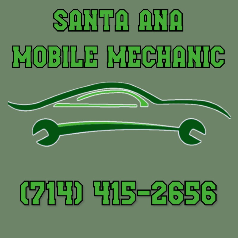 Logo for Santa Ana Mobile Mechanic, offering mobile auto repair services to Santa Ana, California vehicle owners.